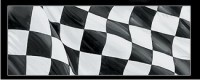 Checkered Flag - Glasscapes # 10005