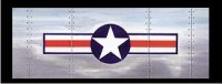 U.S. Aircraft Star & Bar - Glasscapes # 10065