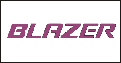 BLAZER Windshield Decal