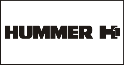Hummer H1 Windshield Decal