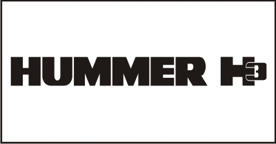 Hummer H3 Windshield Decal