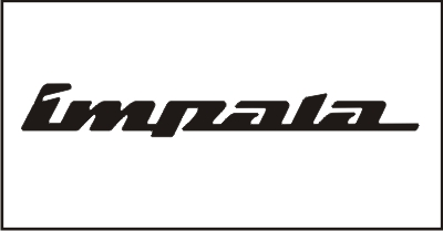 Impala Windshield Decal