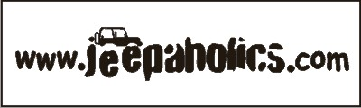 Jeepaholics Windshield Decal