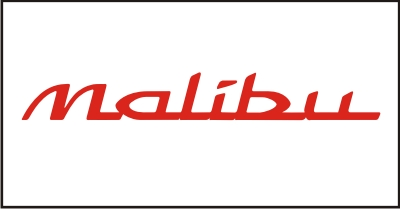 Malibu Windshield Decal