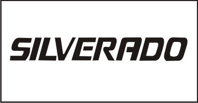 Silverado Windshield Decal