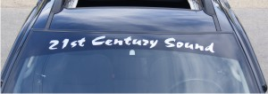 Create Your Own Custom Windshield Decal
