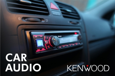 Kenwood Car and Marine Audio with Installation. CD Players, DVD video, USB, Aux Input, Video, Backup Cameras and Touch Screens.